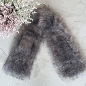 INDIGO Faux Fur Scarf